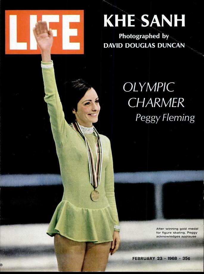 LIFE - Magazine February 23, 1968 (Olympic Charmer Peggy Flemming) Khe Sanh