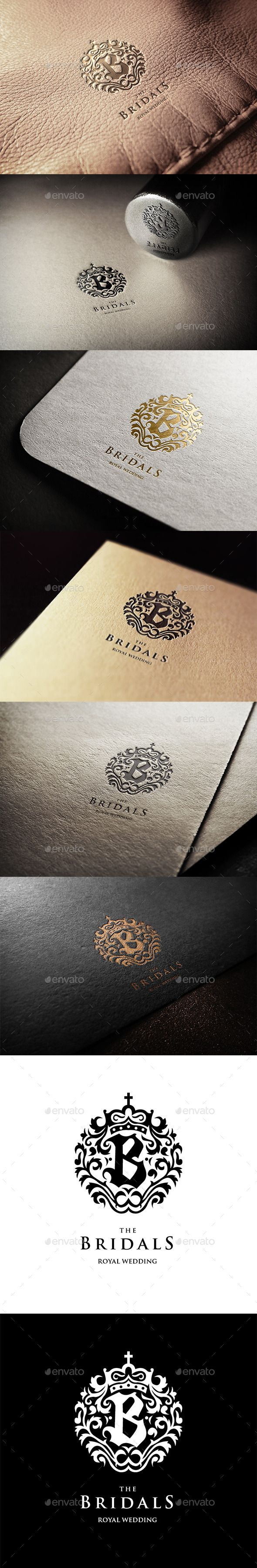 The Bridals Logo Template #design #logotype Download: http://graphicriver.net/item/the-bridals-logo/11272861?ref=ksioks