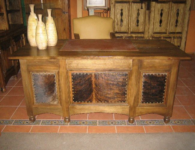 western style desk | Western and Southwestern Desks and Accessories