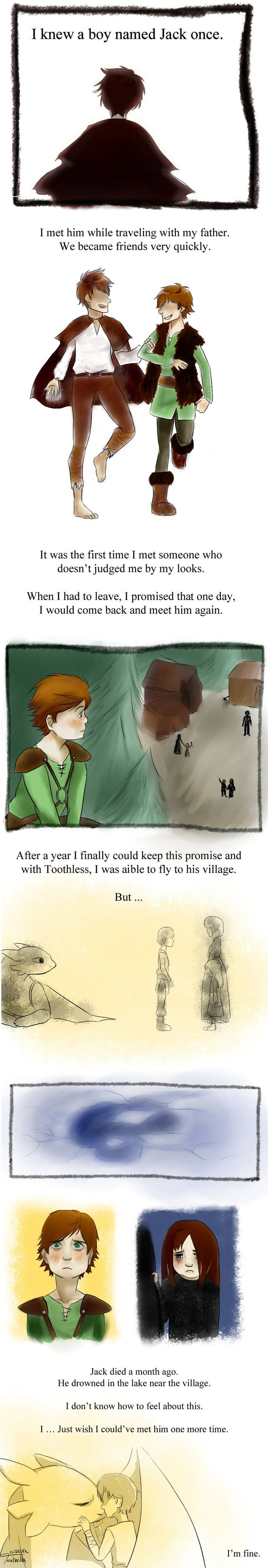 excuse me while I drown in a pool of my own tears... (How to Train a Dragon and Rise of the Guardians crossover)