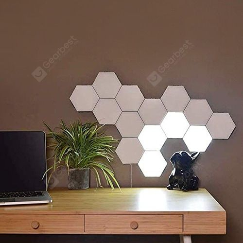 Buy Touch Control Wall Light Hexagon Honeycomb Induction Lamp Sale Ends Soon Be Inspired Discover Affordable Touch Sensitive Lamp Creative Decor Wall Lights