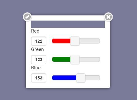 This is a simple jQuery plugin which enables you to create a mobile-first RGB color picker component using jQuery mobile's popup widget. #jquery #colorpicker