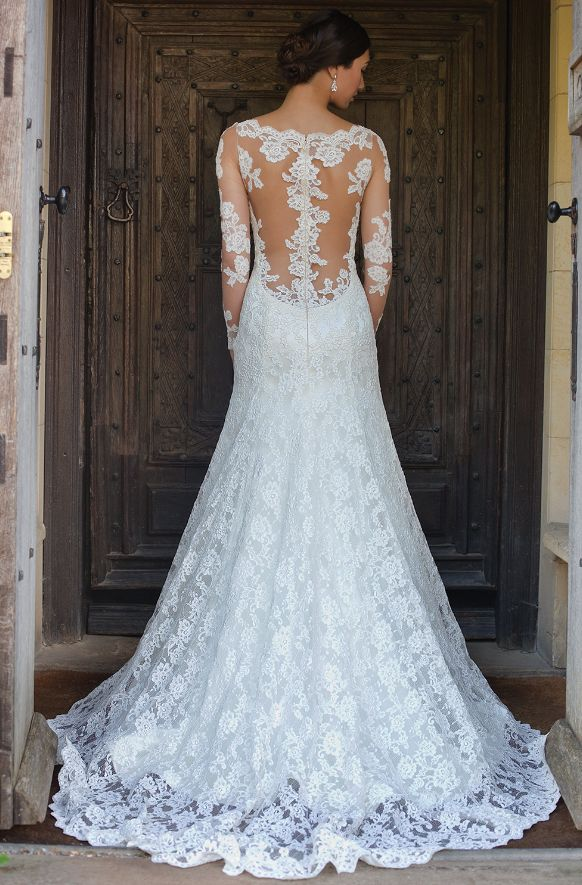 Long sleeves wedding dress from Augusta Jones