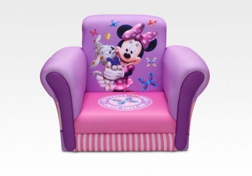 Disney Minnie Mouse Upholstered Chair by Delta Children #Minnie #Disney #furniture #kids