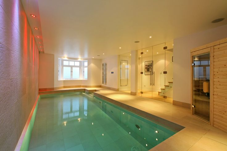 9 best lightwell for basement images on pinterest for Basement swimming pool ideas