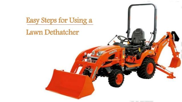 You need to understand how to use a lawn dethatcher to efficiently remove thatch and improve the health of your lawn. Most importantly, you need to choose a good lawn dethatcher.