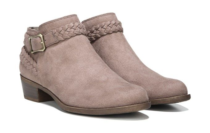 3a2dce94cb58 Lifestride Women s Adriana Ankle Booties (Mushroom)