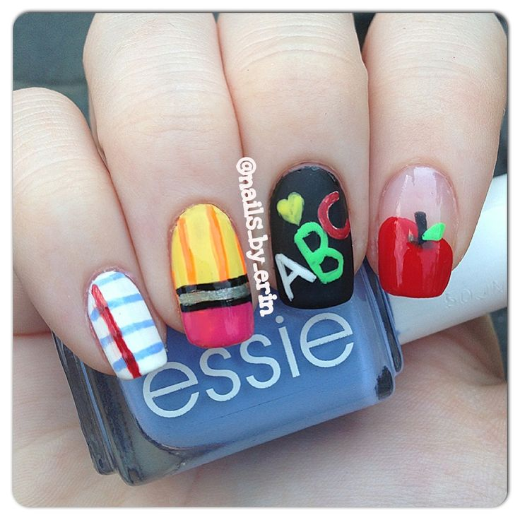 97 best Graduation nails images on Pinterest | Back to school nails ...