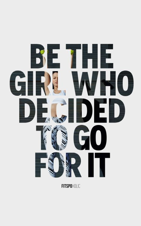 Be the girl who decided to go for it! Sign up for the Skinny Ms. Newsletter and make changes for the better!