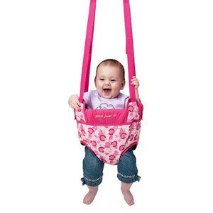 Evenflo Jenny Junp Up from Walmart. A MUST for busy babies! We bought this for our Keyanah for Christmas! At 3 months old, she is jumping like a pro! She loves it! She lives in it at home with her mommy when she's not asleep.