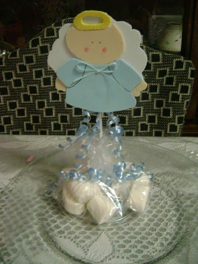 angelito de fomi centro de mesa party favors pinterest