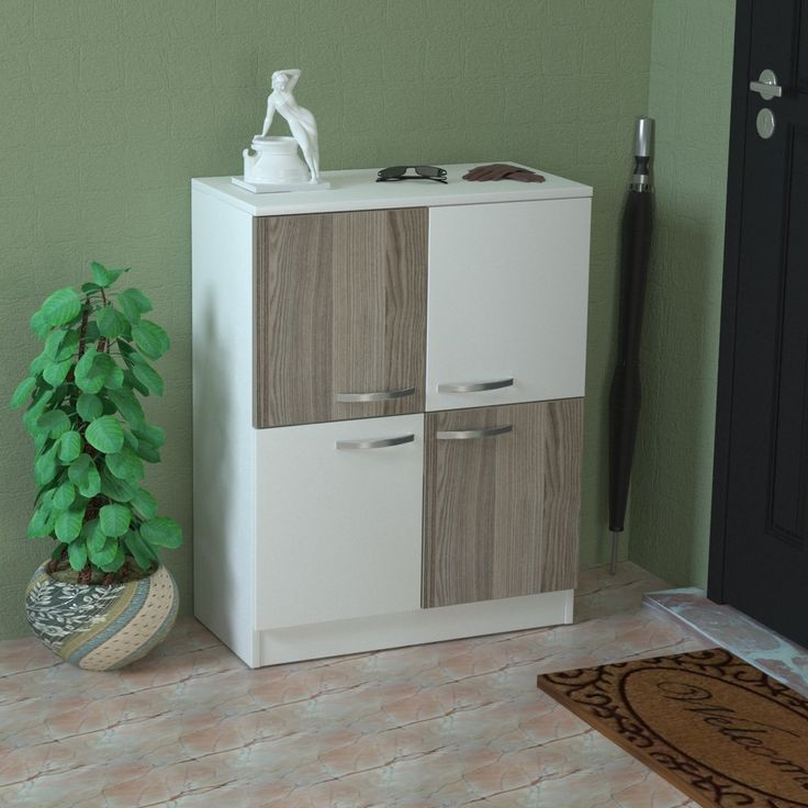 Ray Modern Shoe Rack / Storage Cabinet / Side Table