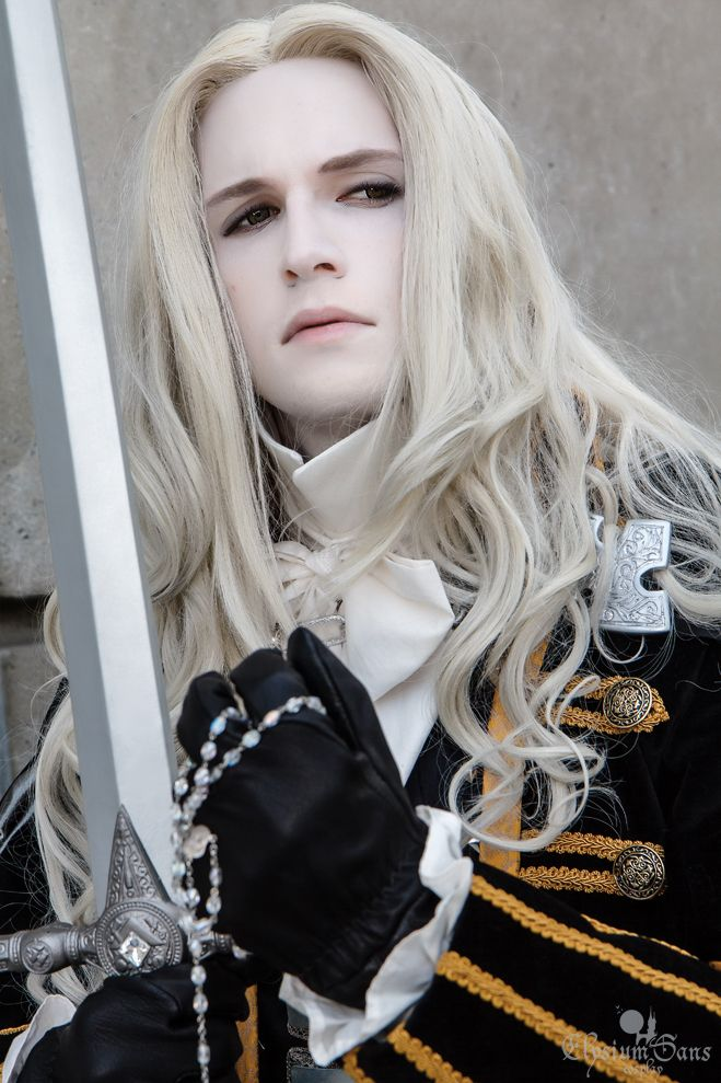 Castlevania: Symphony of the Night, Alucard Portrait by *Elysium-Sans on deviantART. Photo courtesy of Franklin Teng.