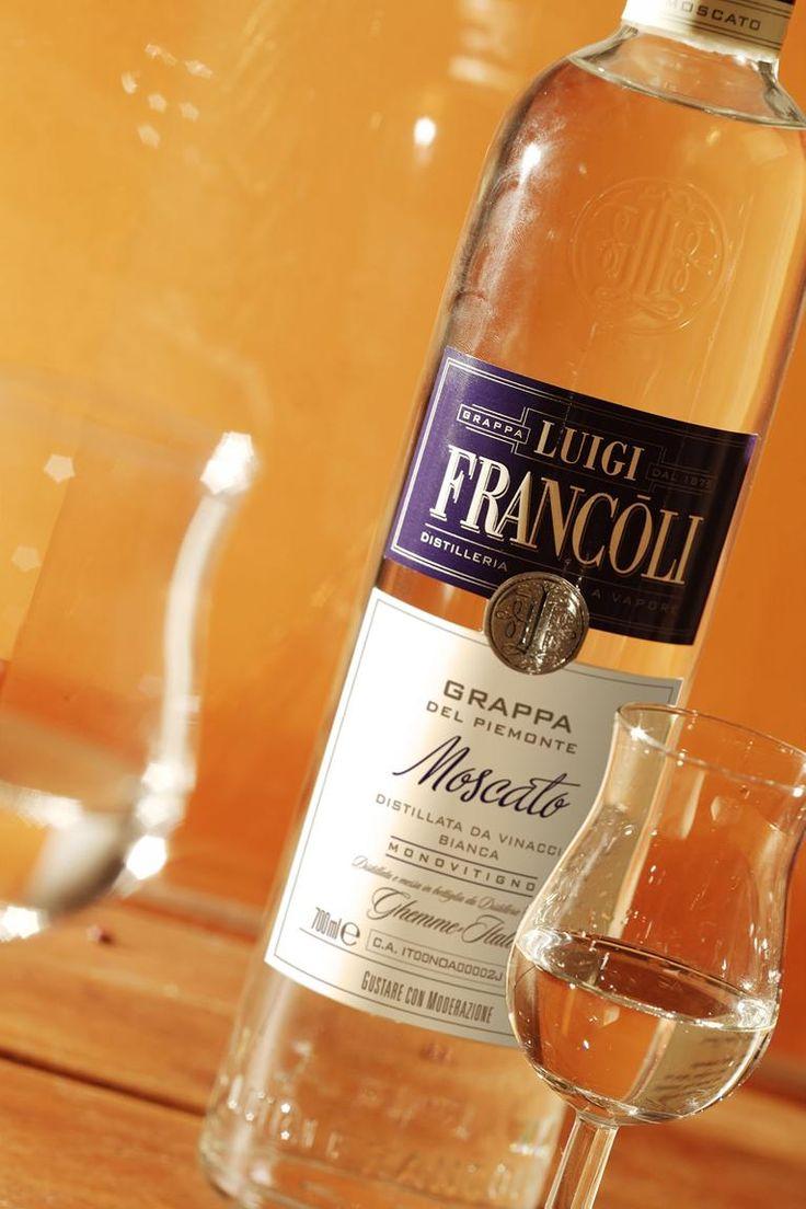 Grappa Luigi Francoli Moscato del Piemonte #grappa #grappafrancoli