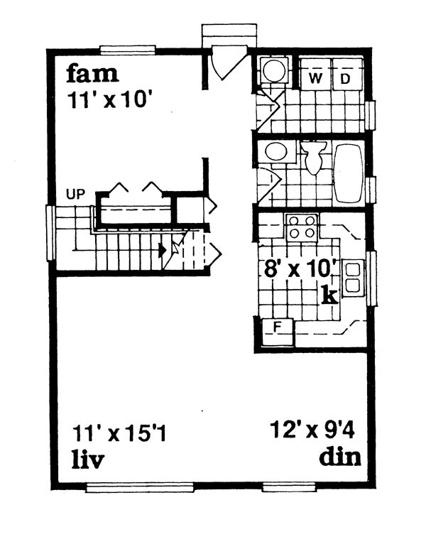 12 best all time favorite family floor plans images on for 24x32 house plans