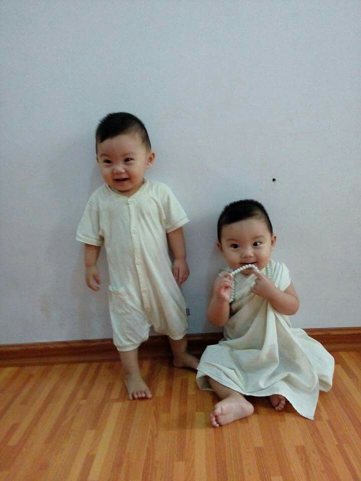 Kaung & kant  twin brother