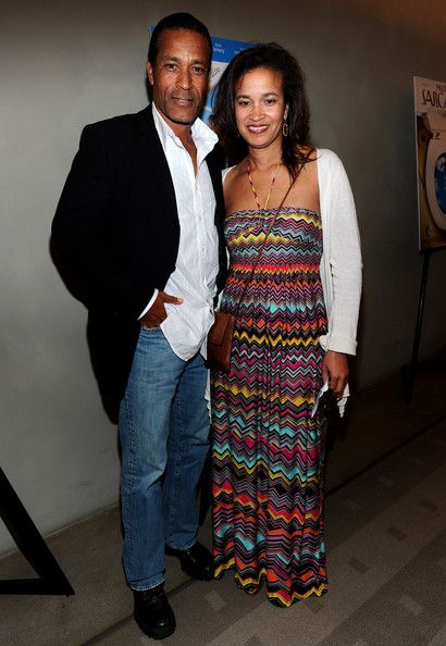 Greg Morris Son | Phil Morris Actor Phil Morris and writer Linda Morris arrive at the ...