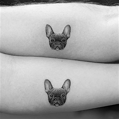 French bulldogs are the most wanted pups on the market. These tattoos basically explain why. Check it out.