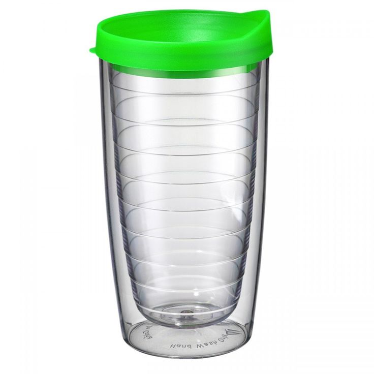 Set of 2 Tervis Style Tumblers, 16 Oz Double Wall Tumbler With Lid, BPA, Acrylic Tumbler With Lid