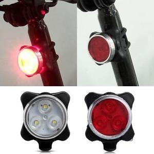 Fahrradlampe Fahrradlicht USB LED Fahrrad Rücklicht Fahrradbeleuchtung TOP
