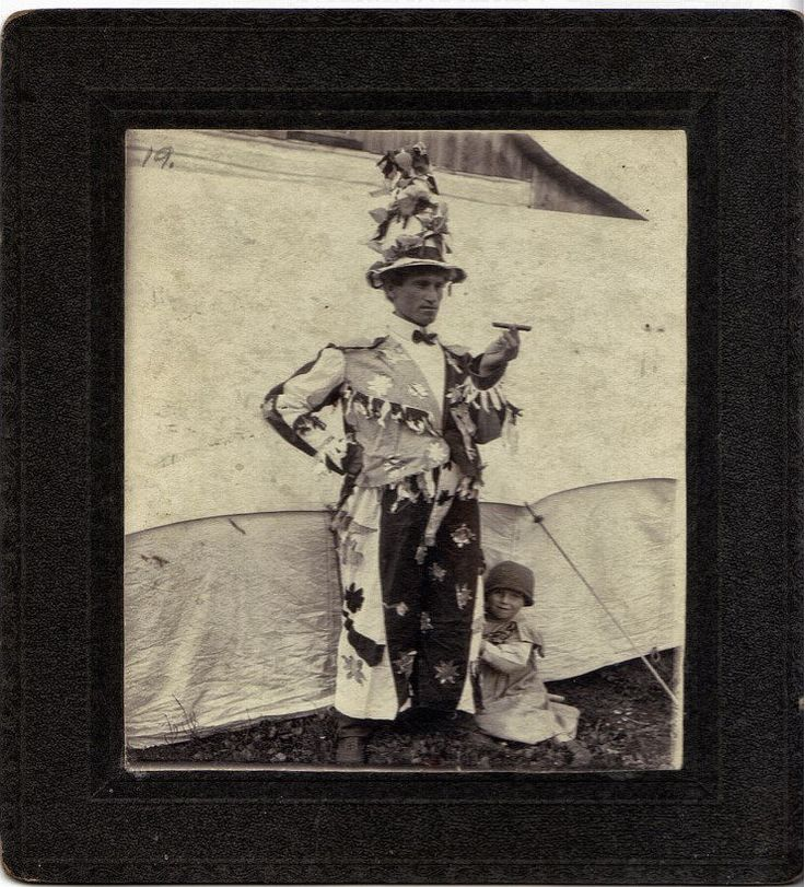 One of two creepy clown photos.