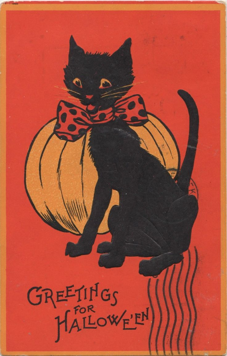 515 best CARDS - Halloween Vintage images on Pinterest