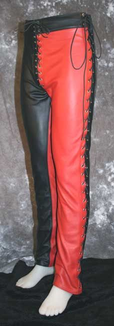 Pant Harlequin Mens Leather Trousers
