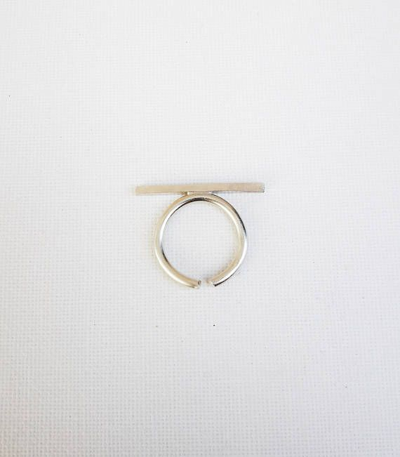 Check out this item in my Etsy shop https://www.etsy.com/listing/537873070/minimal-ring