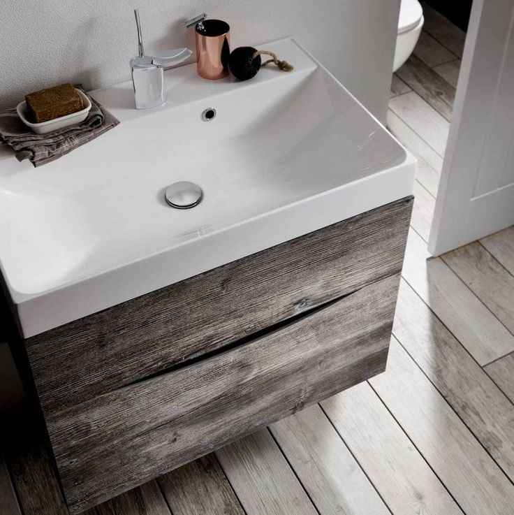 Crosswater Glide Ii Vanity Unit With Thin Basin Vanity Units Bathroom Bathroom Vanity Units