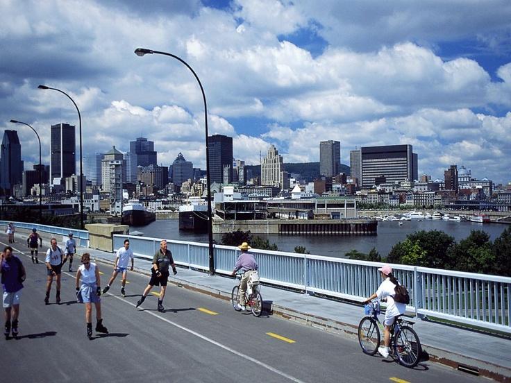 Montreal é o segundo maior centro portuário do Canadá. Movimenta cerca de 23 milhões de toneladas por ano (Crédito: Divulgação)