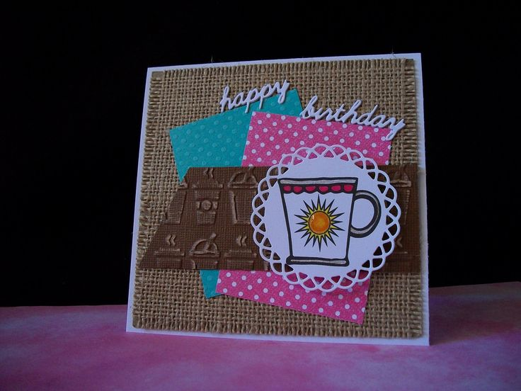 Handmade card by Rebecca Yahrling using the Rise and Shine digital set from Verve. #vervestamps