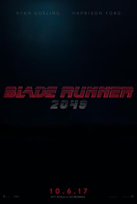 Blade Runner 2049 (2017) Poster.  Suspense/ThrillerSci-Fi/Fantasy. - Thirty years after the events of the first film, a new blade runner, LAPD Officer K (Ryan Gosling), unearths a long-buried secret that has the potential to plunge what's left of society into chaos. K's discovery leads him on a quest to find Rick Deckard (Harrison Ford), a former LAPD blade runner who has been missing for 30 years. - In Theaters October 6, 2017. | Warner Bros. Pictures