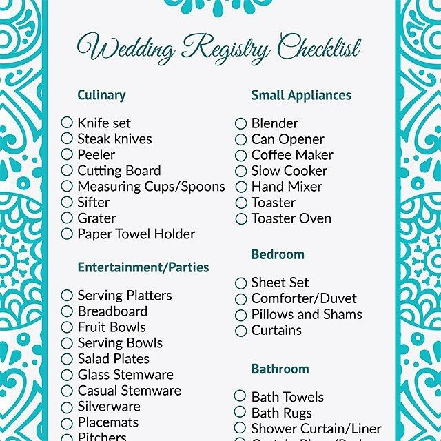 Wedding Registry List Ideas: Best 25+ Wedding Registry Checklist Ideas On Pinterest