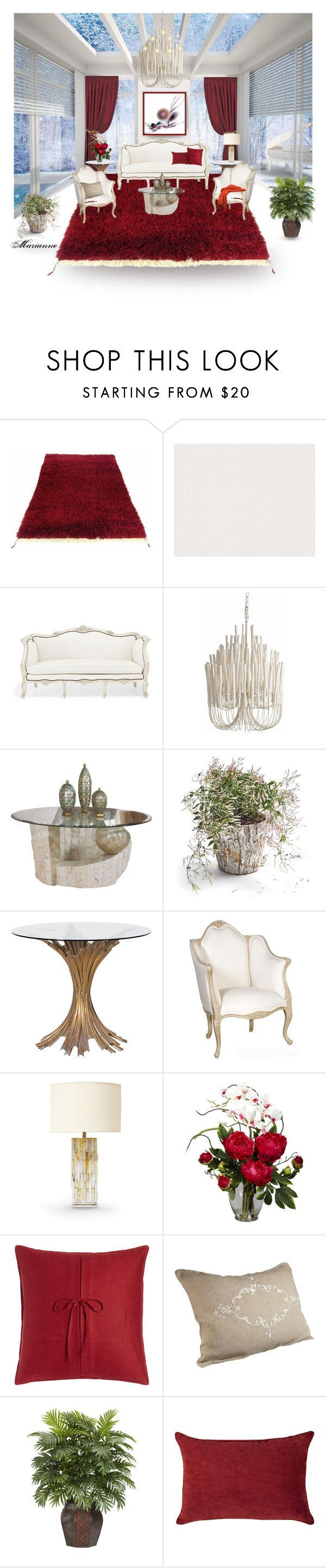 """Home 3"" by marianne-spiessens on Polyvore featuring interior, interiors, interior design, home, home decor, interior decorating, Tulu, Market, Palecek and Nearly Natural"