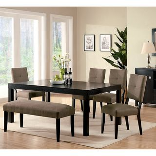 Attractive @Overstock   Furniture Of America Rockwell Espresso Finish 6 Piece Dining  Set   Set
