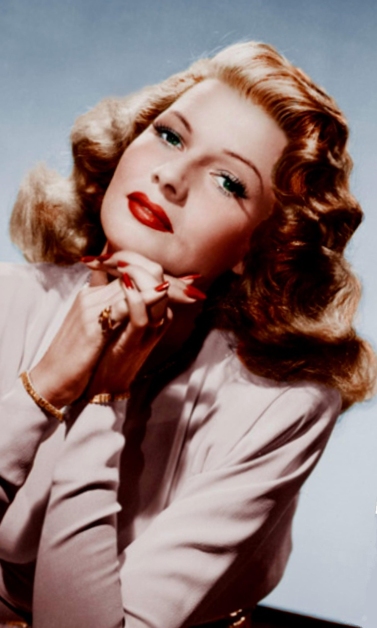 """rITA hAYWORTH,  1947 in """"Down To Earth"""".  - about this time she began being called """"The Love Goddess""""."""