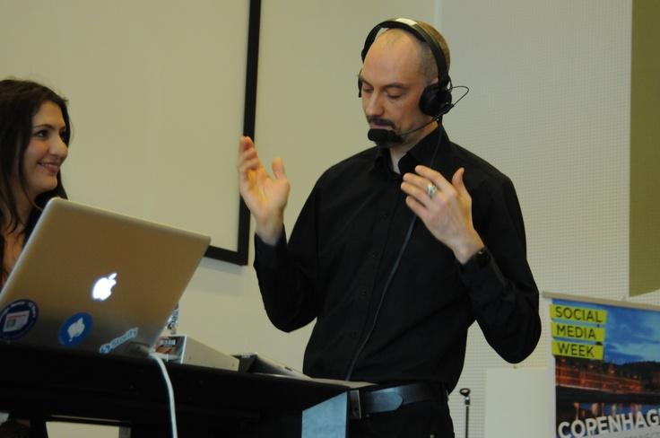 Social Media Week Copenhagen - Live Session with The Radioprogram Harddisken (The Harddrive). Hosted by DR NYHEDER at DR Byen. Photo by Veronica Skotte