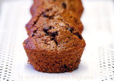 Se non è zucca è pan bagnato: Muffin al cioccolato