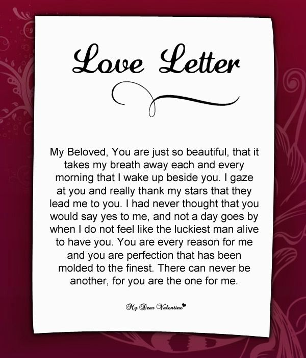10 Best Images About Love Letters For Her On Pinterest