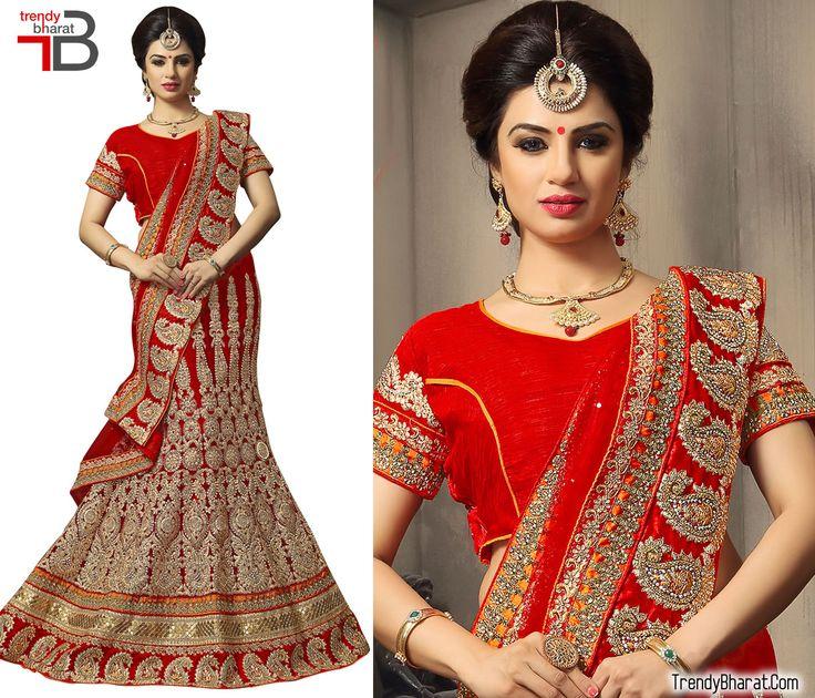 #BridalDress #TrendyCollection #EthnicWear #RedDress