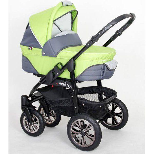 Купить детскую коляску Happych Aviator 2 в 1 (Хэппич) в интернет-магазине «Ваша первая покупка».