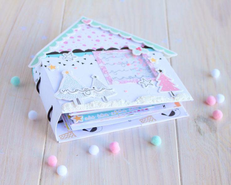 Diario-de-Navidad-Los-Mundos-de-Sand-para-Gigietmoi  #manualidades #scrap #scrapbooking #craft #papercraft