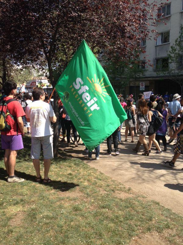 """Marcha mundial contra Monsanto, en Chile dijimos """"Tolerancia cero a los transgénicos"""""""