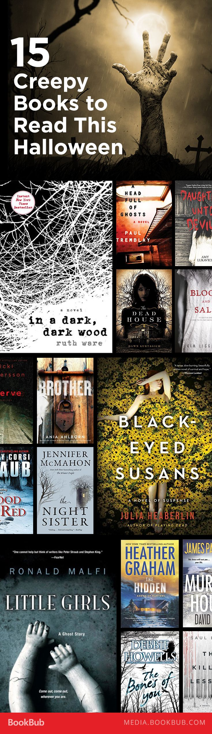 15 creepy books to read for Halloween.