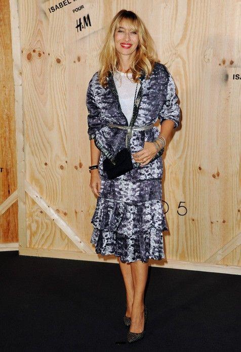 Alexandra Golovanof op het lanceringsevenement van Isabel Marant X H&M