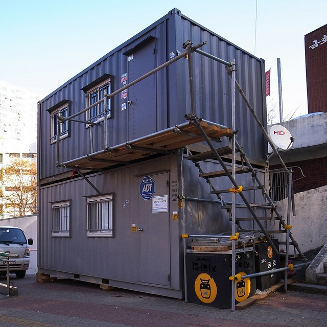 Big Living In Container Spaces: 159 Best Shipping Container Living Spaces Images On