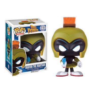 Cabezón Marvin el Marciano, 10 cm. Duck Dodgers, Looney Tunes. Funko Pop  Cabezón de 10 cm basado en la serie de Looney Tunes con el personaje Marvin el Marciano.