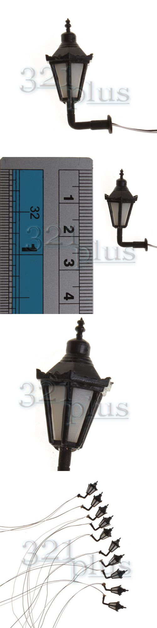 lamps and lights 81026 10 pcs miniature wall lights 1 32 scale