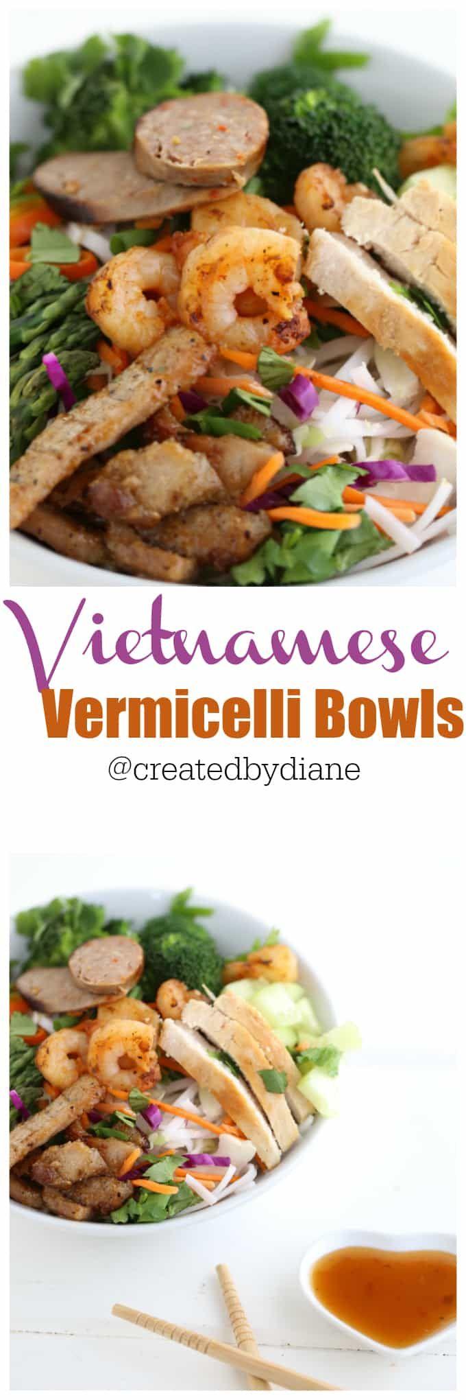 Vietnamese Vermicelli Bowls from @createdbydianeEdit description