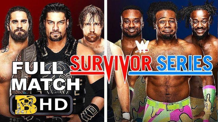 WWE SURVIVOR SERIES 2017 SHIELD VS NEW DAY FULL MATCH - WWE SURVIVOR SER... #wwe #survivorseries #survivorseries2017 #sethrollins #romanreigns